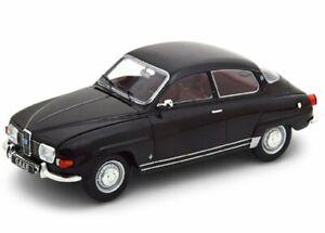 SAAB 96 V4 - 1970 - black - WhiteBox 1:24