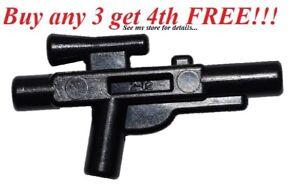 Black Medium Blaster x 10 GENUINE Weapon NEW LEGO Star Wars gun