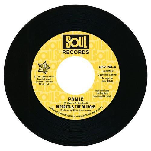 REPARATA & THE DELRONS Panic / Captain Of Your Ship NEW NORTHERN SOUL 45 Vinyl