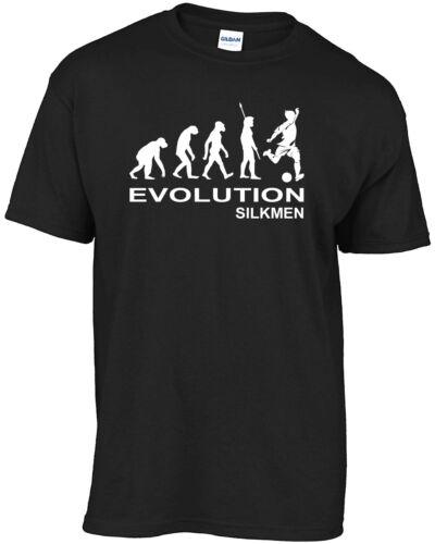 MACCLESFIELD TOWN-Evolution silkmen T-Shirt