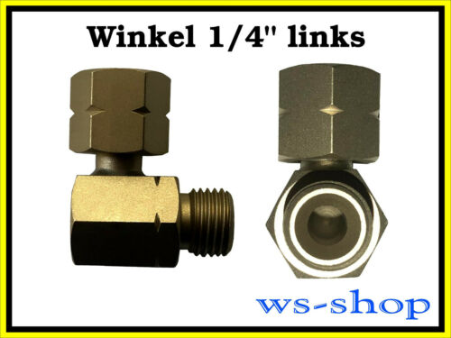 "kein GOK Verbindungswinkel Winkel 90° für Propan Gasgrill 1//4/"" links"