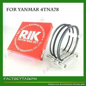 Riken Piston Ring STD 78mm for YANMAR 4TNA78 (129590-22510)