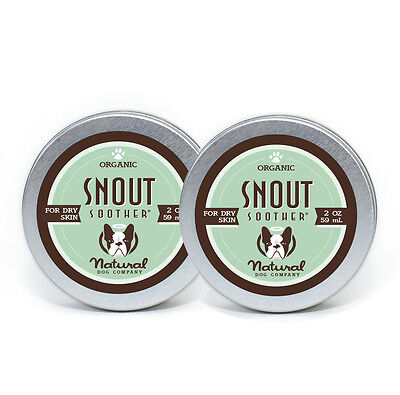 Natural Dog Company SNOUT SOOTHER 2-Pack (2 oz Tins)