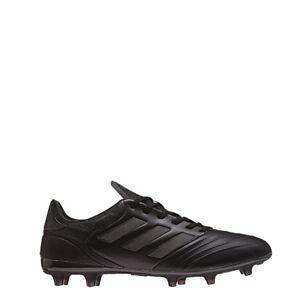 size 40 4cb50 d5f99 Das Bild wird geladen adidas-COPA-18-2-FG-Leder-Fussballschuhe-schwarz-