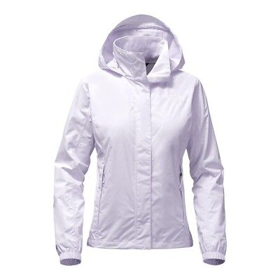 THE NORTH FACE Women/'s Waterproof Packable Rain Jacket Resolve 2 Hooded S//P $99