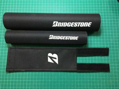 Details about  /Bridgestone repop BMX Padset Old school PK Jaws crossfire