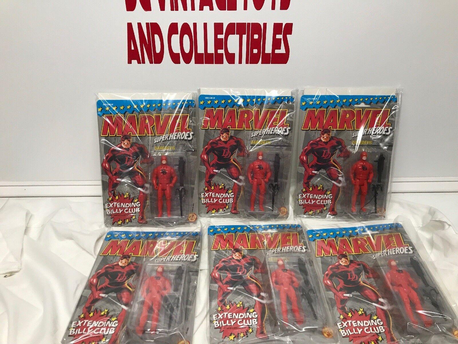 DAREDEVIL EXTENDING BILLY CLUB MARVEL SUPER HEROES Toy BIZ 1990 Lot-6