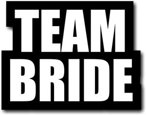 #WordProps Large - TEAM BRIDE