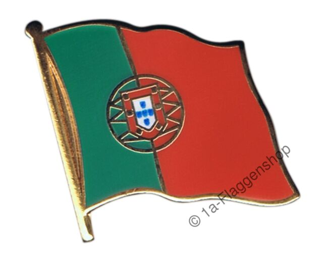 Portugal Flag Pin Badges