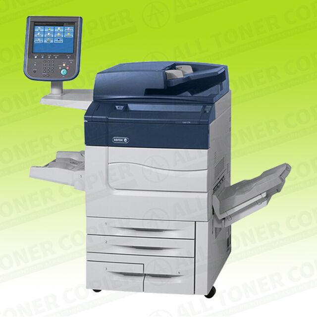 Xerox Color C60 Laser Commercial Printer Copier Scanner Catch Tray Fiery 65  PPM