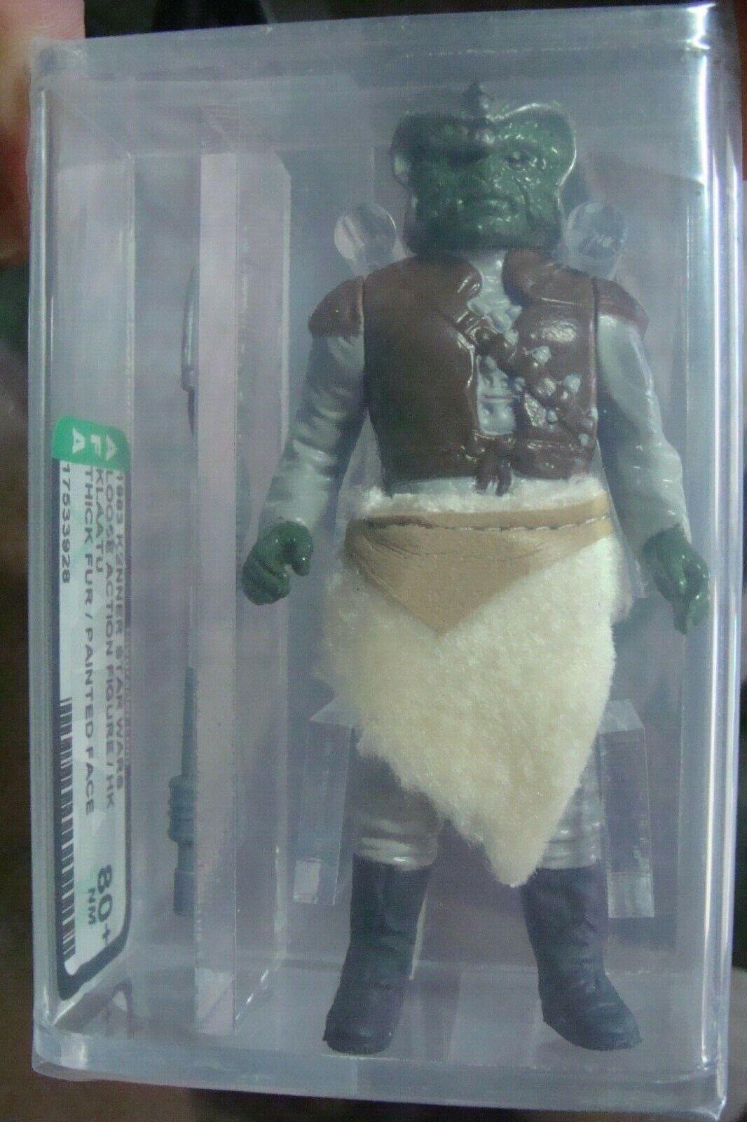 Figura De Estrella Wars autoridad 80+ Klaatu retorno del Jedi Figura de Acción 1983 Kenner Suelto Vintage