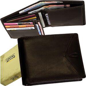 CAMEL ACTIVE braun Herren Geldbörse Portemonnaie dark-brown purse Geldbeutel