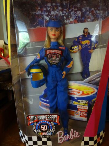 BARBIE NASCAR 50TH ANNIVERSARY HOT WHEELS COLLECTORS EDITION 1998