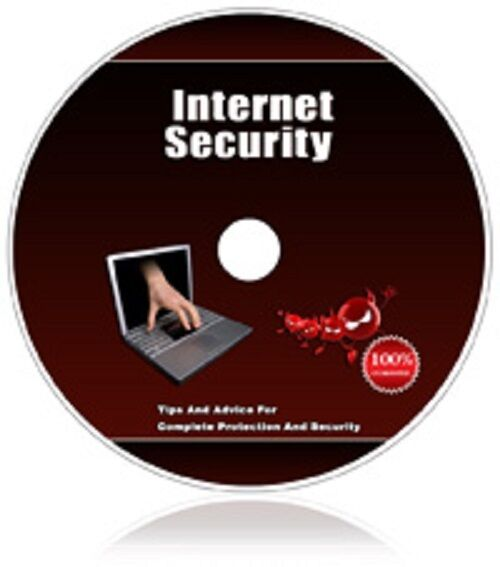 Internet Security Tips  - with 110 Internet Security PLR Articles w/ MRR