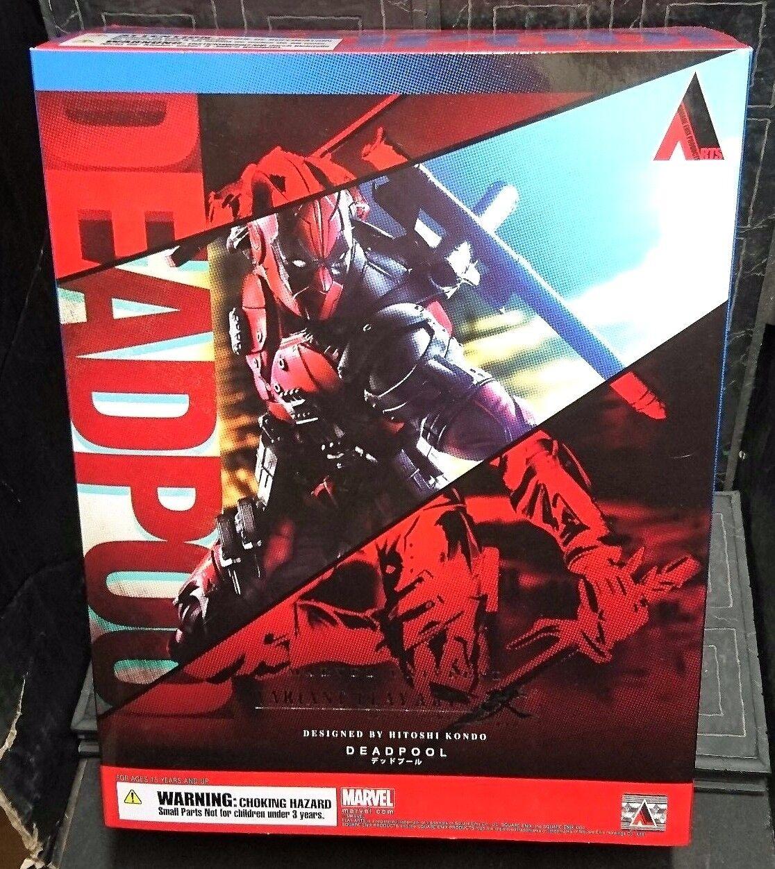 Variant Play Arts Kai DEADPOOL 10.5  26cm Hot New  Marvel Universe Legends Toys