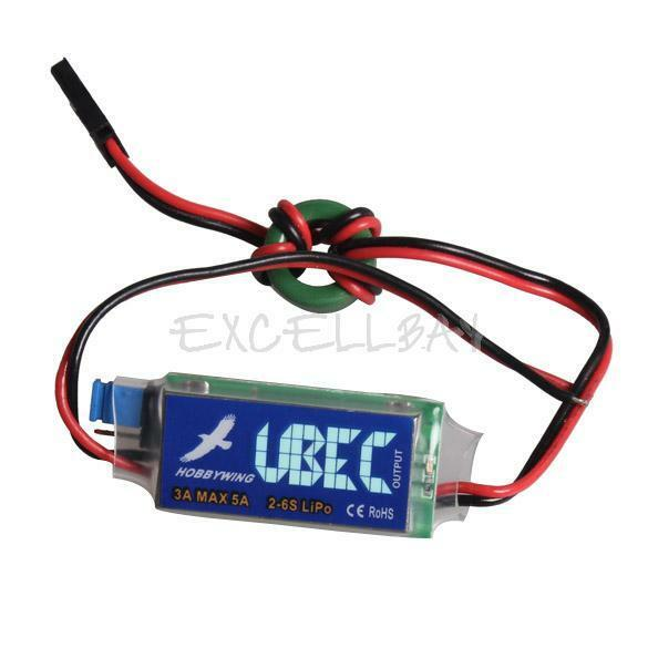 3A UBEC 5V 6V Full Shielding Antijamming Switching Regulator  E0Xc
