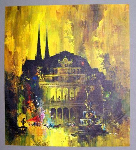 Vintage Frans Van Lamsweerde Vienna Canvas Print
