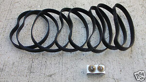 vacuum belt 8 belts 2 bulbs bulb fit Fantom Thunder 71023   eBay
