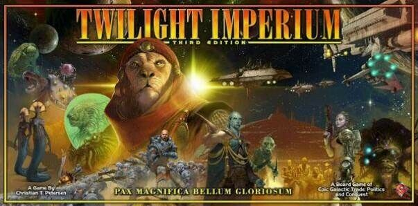 Twilight Imperium 3 + Shattered Empire Expansion,