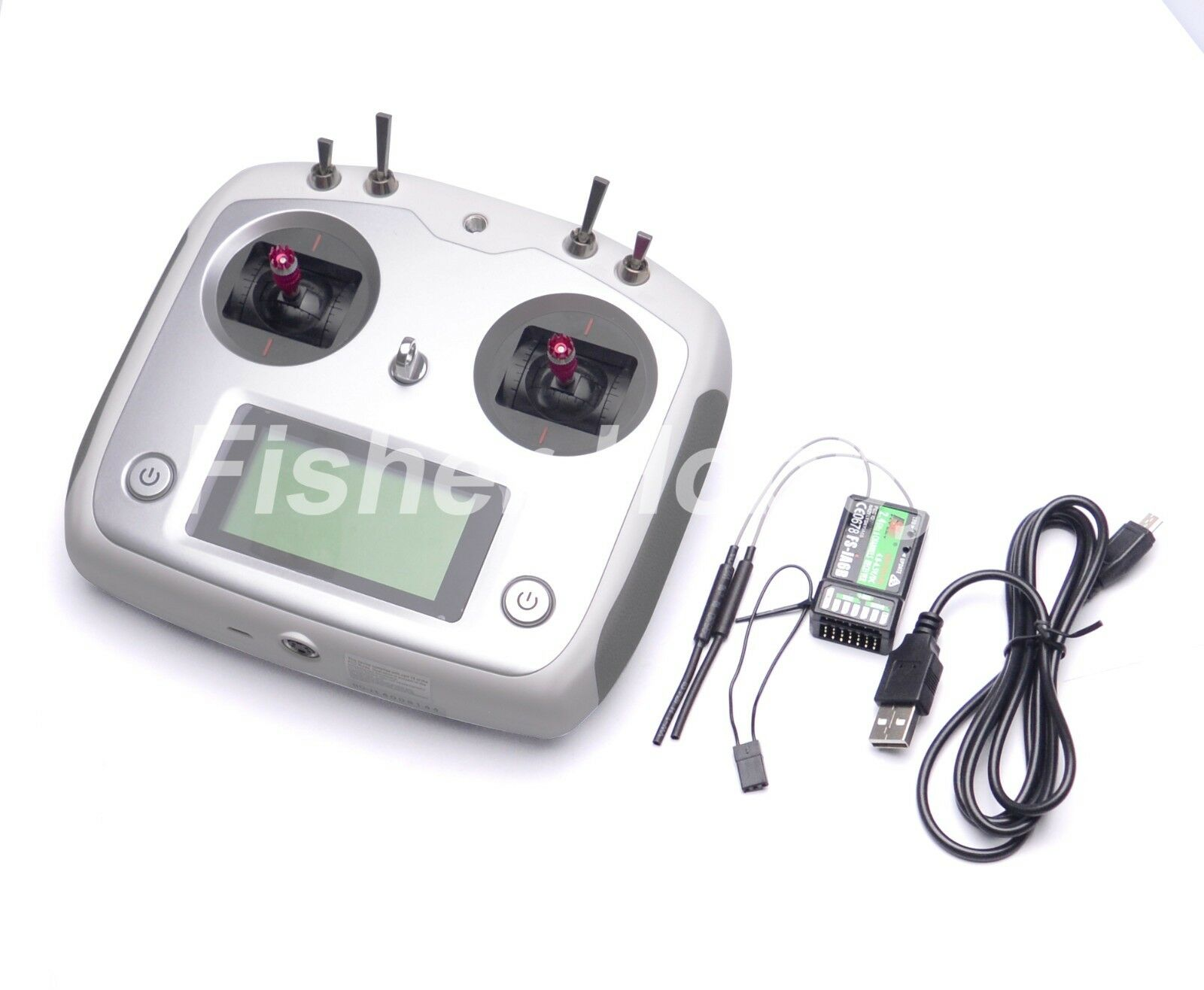 Fly sky 2.4G FS-i6s 10ch RC Transmitte with FS - iA6B Receiver For RC Quad drone