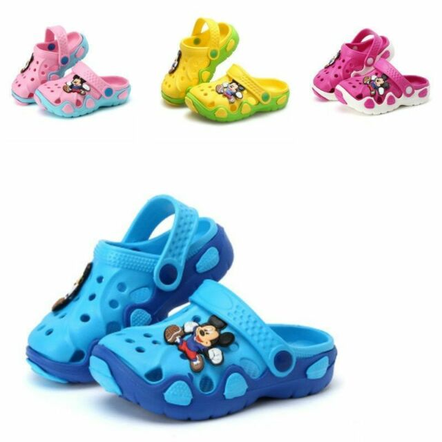 SUMMER CHILDREN CARTOON CHARACTERS CAVE SHOES FASHION BOYS AND GIRLS KIDS