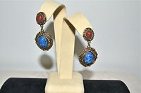 $160 Heidi Daus Sparkling Scarab Two Tone Dazzling Drop Earrings Sold Out