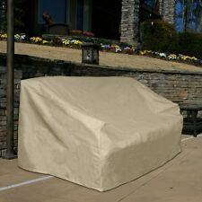 Love Seat Bench Cover Outdoor Patio Furniture Sofa Protection Weather Wrap Taupe