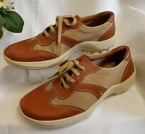 Zapatos-Hombre-Marron-Beige-40-Talla-MADE-IN-ITALY-Deportiva-Sin-Cordones-98201