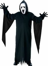 Boys Howling Ghost Costume Halloween Fancy Dress + Mask Child Outfit  sc 1 st  eBay & Kids Age 3-4 Howling Ghost Fancy Dress Costume | eBay