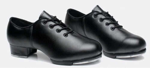Details about  /Premium Genuine Leather High Quality Dance Shoes Lace Up Tap Shoes #101