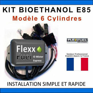 kit ethanol e85 6 cylindres flex fuel kit kit de conversion bioethanol e85 ebay. Black Bedroom Furniture Sets. Home Design Ideas