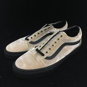 Vans Old Skool Velvet Tan Black Low Top Suede VN0A38G1NQA  c2a4d44b3
