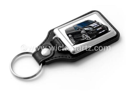 WickedKarz Cartoon Car Ford Transit MK5 Custom Sport Van Black Stylish Key Ring