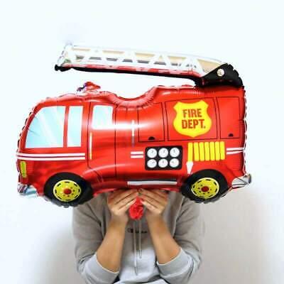 "32/"" Jumbo Yellow Dumper Truck Shape Helium Foil Balloon Construction Theme Party"