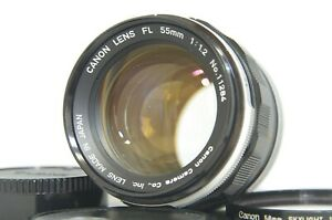 Canon-FL-55mm-F-1-2-MF-Standard-Prime-Lens-SN11284-for-FD-Mount-from-Japan