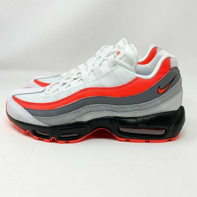 Nike Air Max 95 Essential Sz 11 Mens 749766 112 White Crimson Black Running OG