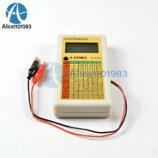 Digital Lcd Esr Capacitance Ohm Meter In Circuit Tester New