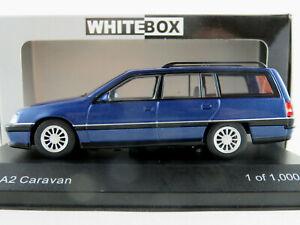 Whitebox-wb292-Opel-Omega-a2-Caravane-1990-dans-blaumetallic-1-43-Nouveau-Neuf-dans-sa-boite