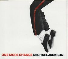 MICHAEL JACKSON One more chance 2 TRACK CD NEW -NOT SEALED  CD1    RARE