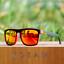 KDEAM 13 Colors Men Polarized Square Sunglasses Sport Outdoor Driving Glasses