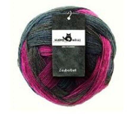 Wolle Schoppel Zauberball LACE Ball 100g Lacegarn Farbverlaufgarn superwash