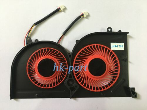 New for MSI GS63VR GS73VR Stealth Pro GPU Cooling Red Fan BS5005HS-U2L1 4-pin