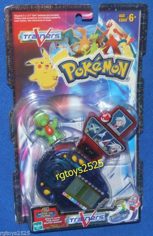 POKEMON VTrainers Electronic Pokey slåss spel Ny fabrik förseglad 2004