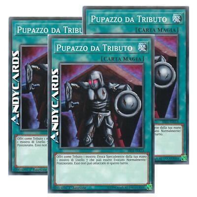 Tribute Doll • Comune • SS01 ITA13 Yugioh! 3x PUPAZZO DA TRIBUTO SPEED DUEL