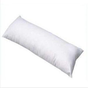 Blanco-Largo-Abrazo-almohada-Interior-Cuerpo-Cojin-Decorativo-Sofa-Cama-Cobertor