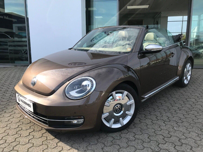 VW The Beetle 1,4 TSi 160 70 Style Cabriolet DSG 2d - 285.000 kr.