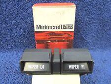 1973-76 MERCURY CAPRI   WIPER SWITCH   NOS FORD  417