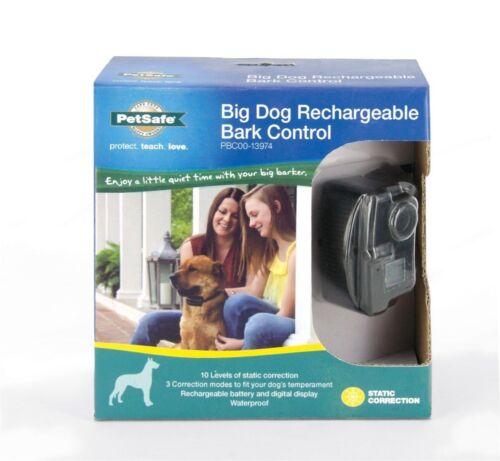 PetSafe PBC00-13974 Big Dog Rechargeable No Bark Shock Waterproof Trainer Collar