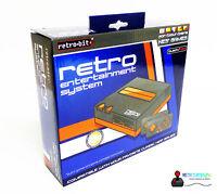 Retro Entertainment System - Retro Bit Nes Konsole + 2 Controller / Neu Ovp