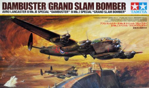 Lancaster Dam Buster Grand Slam 1 48 Aircraft Model Kit Tamiya 61111